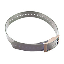 GARMIN Collar Strap for DC 40 Silver (grey)