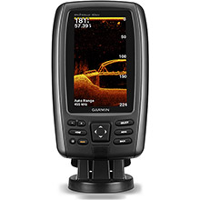 GARMIN EchoMAP 43dv with Transducer and US LakeVu HD maps