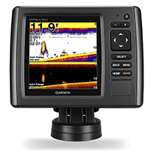 GARMIN EchoMAP 53dv with Transducer and US LakeVu HD maps non-CHIRP