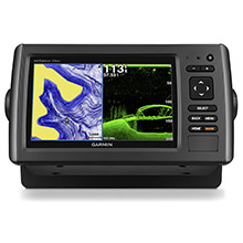 GARMIN echoMAP 73dv with Transducer and US LakeVu HD maps