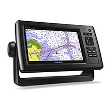 GARMIN EchoMAP CHIRP 74sv with ClearVu and SideVu Transducer