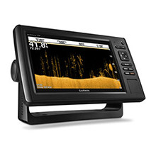 GARMIN EchoMAP CHIRP 92sv with ClearVu and SideVu Transducer