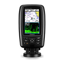GARMIN EchoMAP CHIRP 44dv with DownVu Transducer