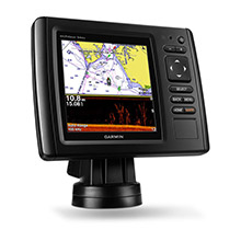 GARMIN EchoMAP CHIRP 54dv with DownVu Transducer