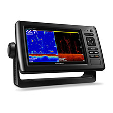 GARMIN EchoMAP CHIRP 73dv with DownVu Transducer