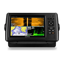 GARMIN EchoMAP CHIRP 73sv with DownVu and SideVu GT52HW-TM Transducer