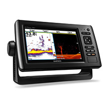 GARMIN EchoMAP CHIRP 74dv with DownVu Transducer