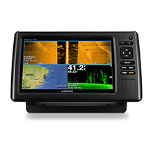 GARMIN EchoMAP CHIRP 92sv with DownVu and SideVu Transducer
