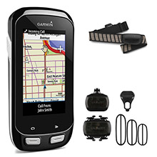 GARMIN Edge 1000 Bundle with Speed and Cadence Sensor and HRM