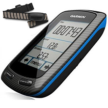 GARMIN Edge 800 Black and Blue Bundle with HRM