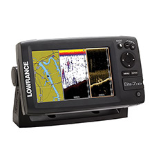 LOWRANCE Elite%2D7 HDI Combo 83 and 200 455 and 800 kHz