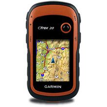 GARMIN eTrex 20 gps navigator GPSS-Glonass