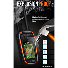 OEM EXPLOSIONproof Screen Protectors for Alpha