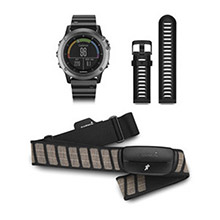 GARMIN Fenix 3 Sapphire Gray with Metal Band Performer Bundle