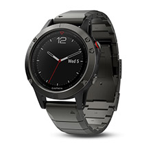 GARMIN Fenix 5 Slate Gray Sapphire with Metal Band
