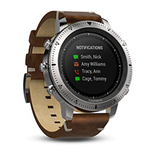 GARMIN Fenix Chronos with Leather Band