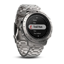 GARMIN Fenix Chronos with Brushed Stainless Steel Band