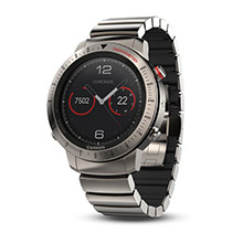 GARMIN Fenix Chronos with Titanium Hybrid Band