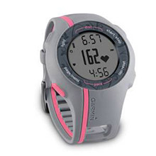 GARMIN Forerunner 110 Pink With Heart rate Monitor Women