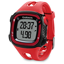 GARMIN Forerunner 15 Black and Red