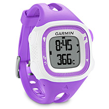 GARMIN Forerunner 15 White and Violet with Heart Rate Monitor