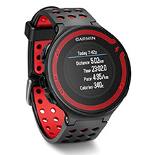 GARMIN Forerunner 220 Black and Red