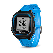 GARMIN Forerunner 25 Blue and Black