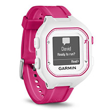 GARMIN Forerunner 25 Pink and White