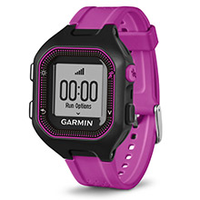 GARMIN Forerunner 25 Purple and Black REFURB