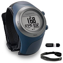 GARMIN Forerunner 405CX with Heart Rate Monitor and USB stick