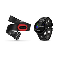 GARMIN Forerunner 735XT Run Bundle Black Gray