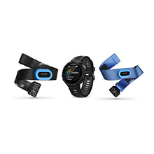 GARMIN Forerunner 735XT Tri-Bundle Black Gray