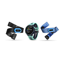 GARMIN Forerunner 735XT Tri%2DBundle Midnight Blue Forest Blue
