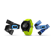 GARMIN Forerunner 935 Tri%2Dbundle with Black with Yellow Straps
