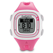 GARMIN Forerunner 10 Pink and White