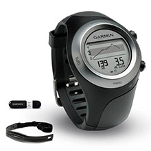 GARMIN Forerunner 405 and Heart Rate Monitor and USB ANT stick - Black