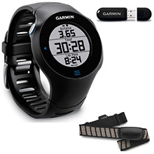 GARMIN Forerunner 610 with ANT stick and Premium Heart Rate Monitor