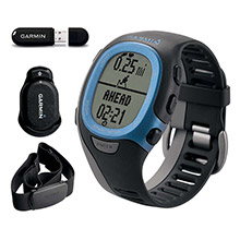 GARMIN FR 60 LTD Blue with Premium HRM ANT Stick Foot Pod Men