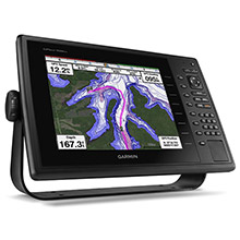 GARMIN GPSMAP 1020xs with Canada lakeVu HD and DownVu Transducer