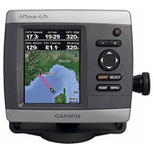 GARMIN GPSMAP 421s with transducer