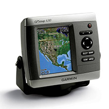 GARMIN GPSMAP 430s with transducer