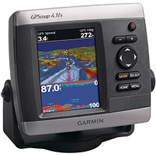 GARMIN GPSMAP 431s with transducer