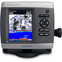 GARMIN GPSMAP 441s with transducer
