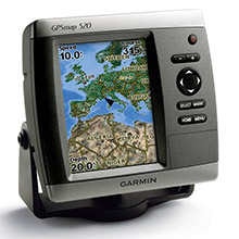 GARMIN GPSMAP 520s with transducer