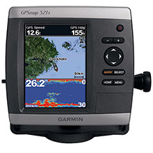 GARMIN GPSMAP 521s with transducer
