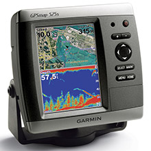 GARMIN GPSMAP 525s with transducer
