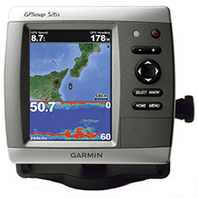 GARMIN GPSMAP 526s with transducer