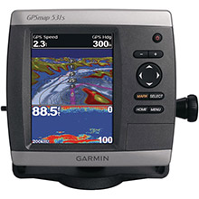 GARMIN GPSMAP 531s with transducer