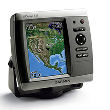 GARMIN GPSMAP 535s with transducer
