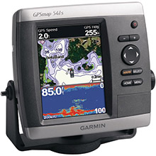 GARMIN GPSMAP 541s no transducer